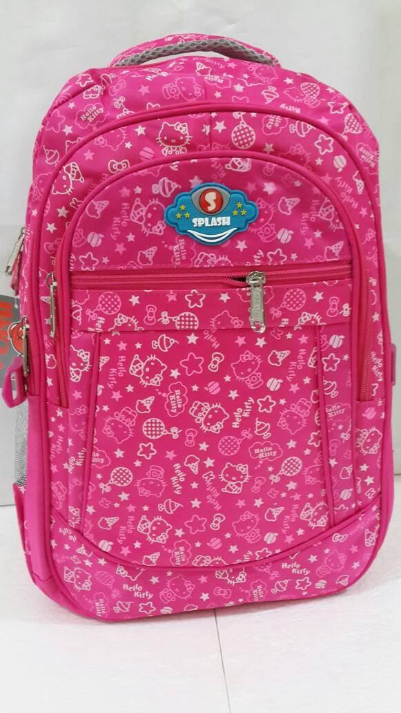 harga Tas cewek splash pink motif hello kitty tas splash laptop pink Tokopedia.com
