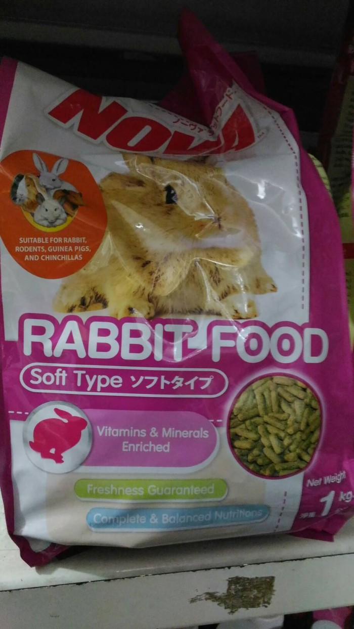 harga Makanan kelinci nova rabbit food Tokopedia.com
