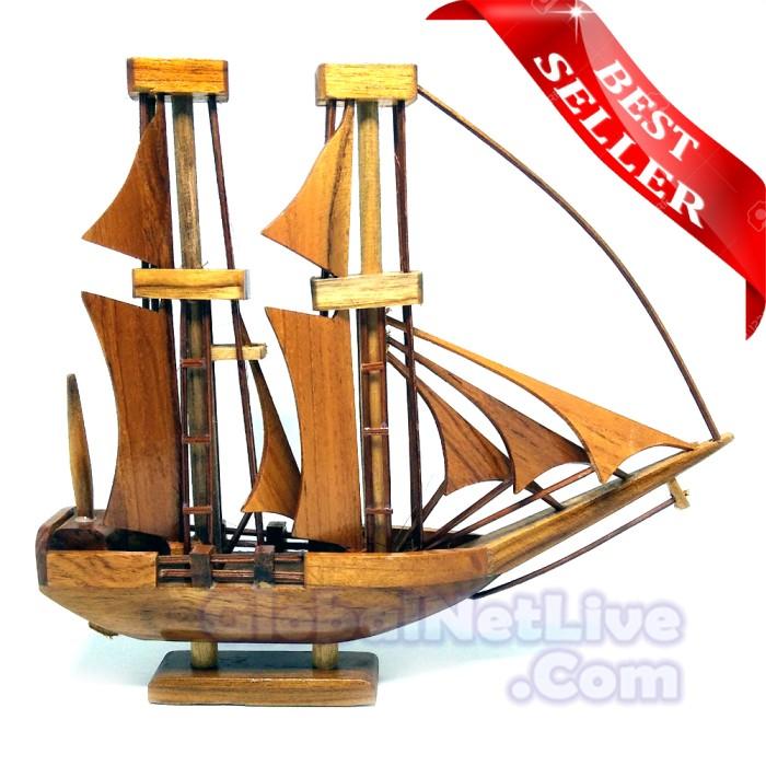 harga Miniatur kapal pinisi dewaruci kayu Tokopedia.com