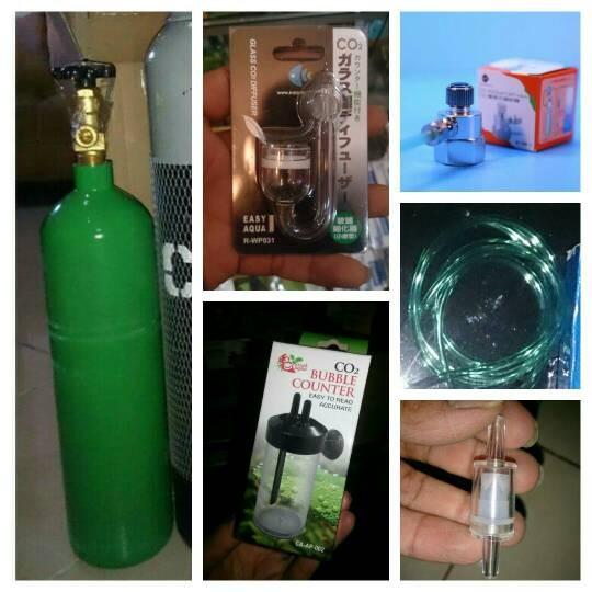 harga Aquascape - paket tabung co2 2kg adjuster mini glass Tokopedia.com