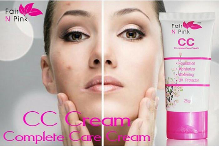 harga Cc cream fair n pink 100% original fairnpink complete care cream Tokopedia.com