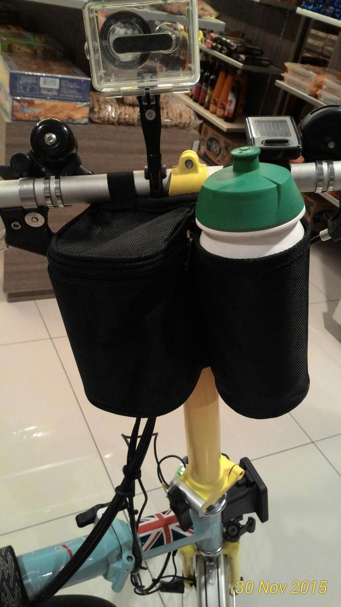 harga Tas handlebar dengan tempat air minum /brompton- tern - dahon / seli Tokopedia.com