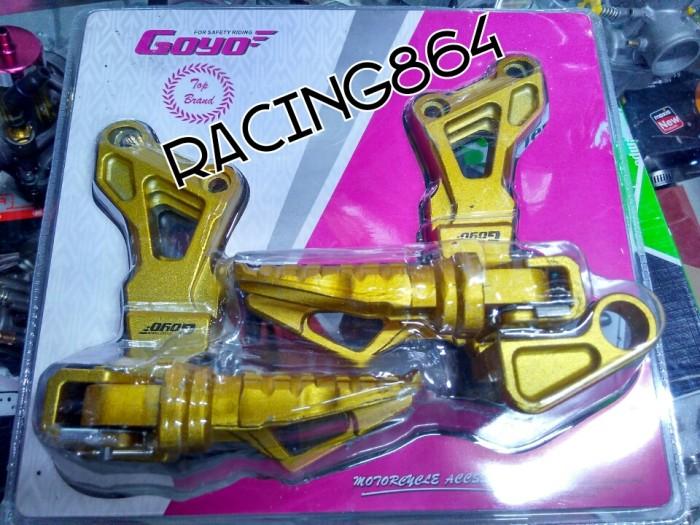 harga Footstep belakang satria fu variasi merk goyo Tokopedia.com