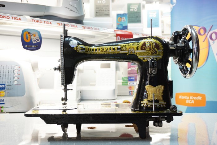 harga Mesin jahit tradisional butterfly ja-1/ja1-1 ( set a ) Tokopedia.com