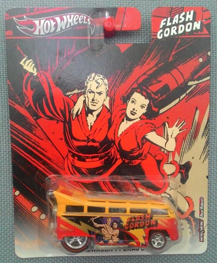 harga Hot wheels - flash gordon - volkswagen t1 drag bus Tokopedia.com