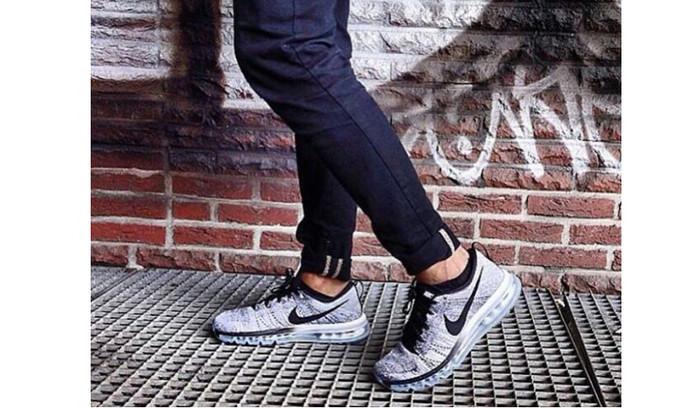 harga Sepatu nike free flyknit air max black premium (sneaker/kets) running Tokopedia.com
