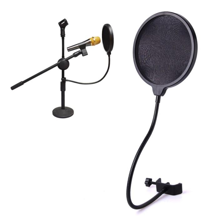 Filter Microphone Screen Studio Wind Mask Condenser Shield Mic