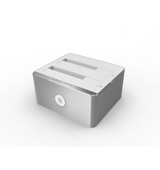 Unitek USB 3.0 DUAL SATA3 DOCKING STATION Alumunium - Y3026