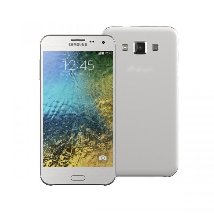 Samsung galaxy e5 white (resmi)