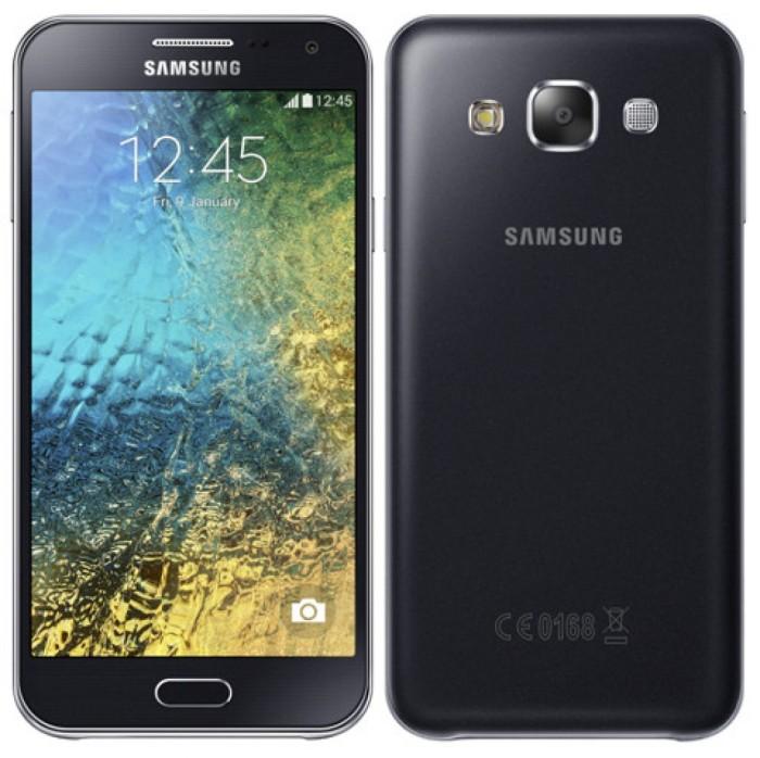 Samsung galaxy e5 black (resmi)