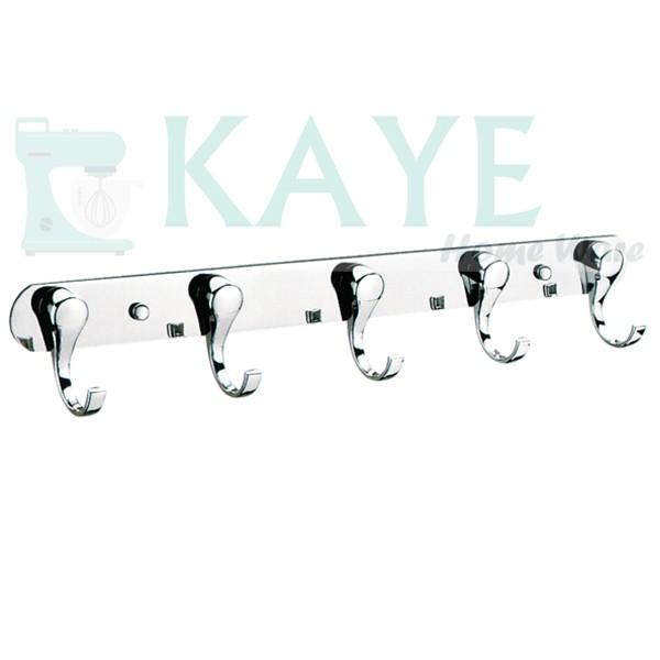 harga Subron kapstock gantungan baju minimalis 5 kait stainless steel -327-5 Tokopedia.com