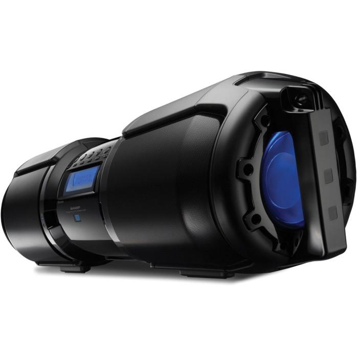sharp gx m10. speaker sharp gx-bt9 portable bluetooth boombox gx m10