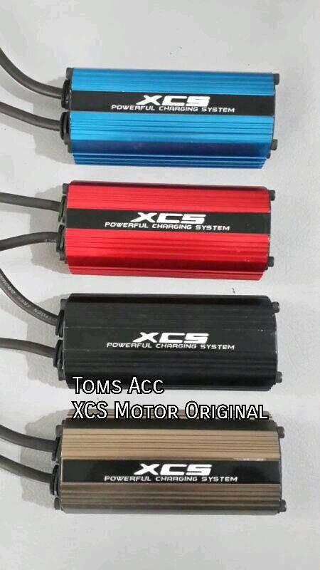 XCS sepeda motor Hurricane stabiliser Aki Accu listrik stabil