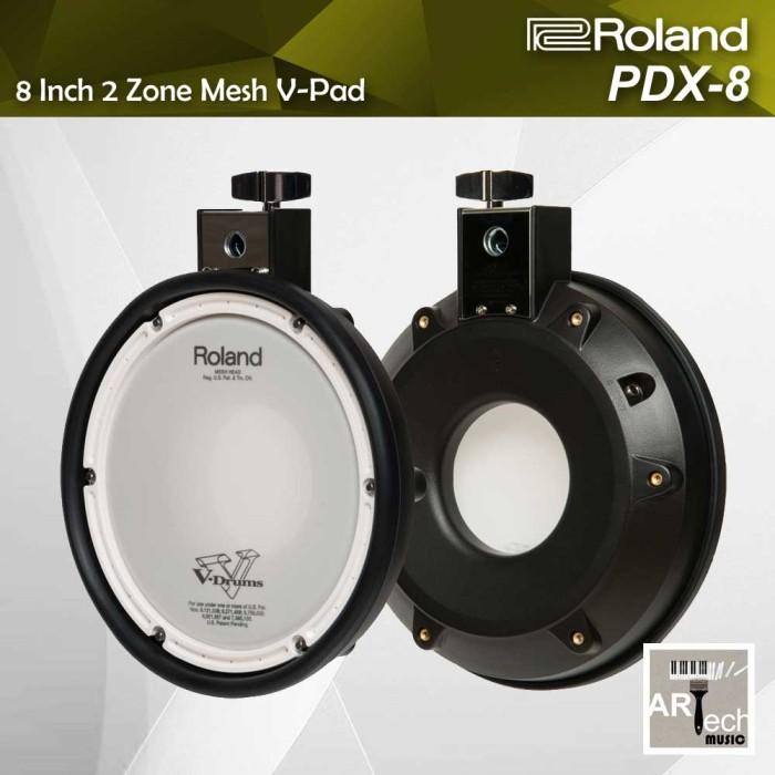 harga Roland pdx-8 / pdx8 / pdx 8 mesh v-pad 8 inch 2 zone utk drum elektrik Tokopedia.com