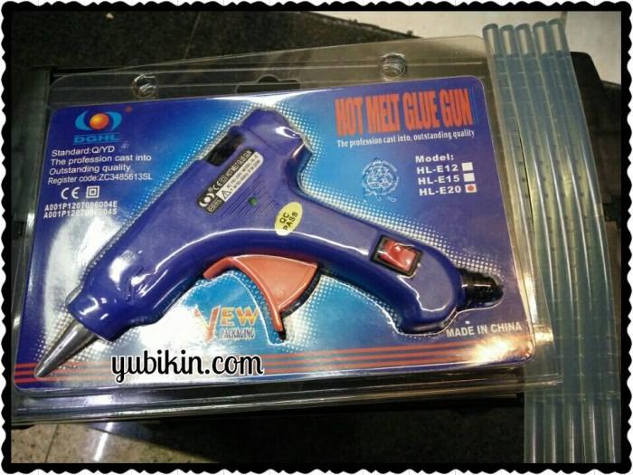harga Alat Lem Tembak (hot Melt Glue Gun) 7mm Hl-e20 Tokopedia.com