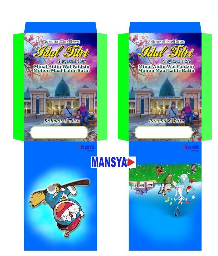 Jual Angpao Lebaran Idul Fitri (desain Sendiri) Sesuai