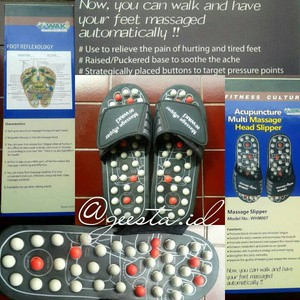 """""""WAKI"""" Message Slipper, Sandal Refleksi Kesehatan"""