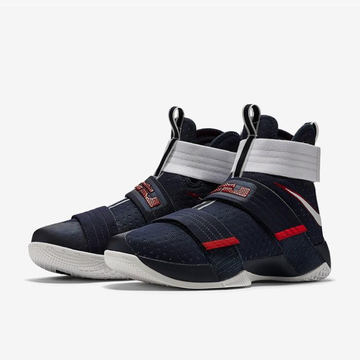 5132cef99b61 Sepatu Basket Nike Lebron Soldier 10 USA Original 844379-416 . ...