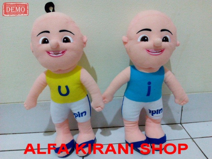 harga Dapat 2 boneka upin & ipin yang lucu mirip di televisi cocok untuk kad Tokopedia.com