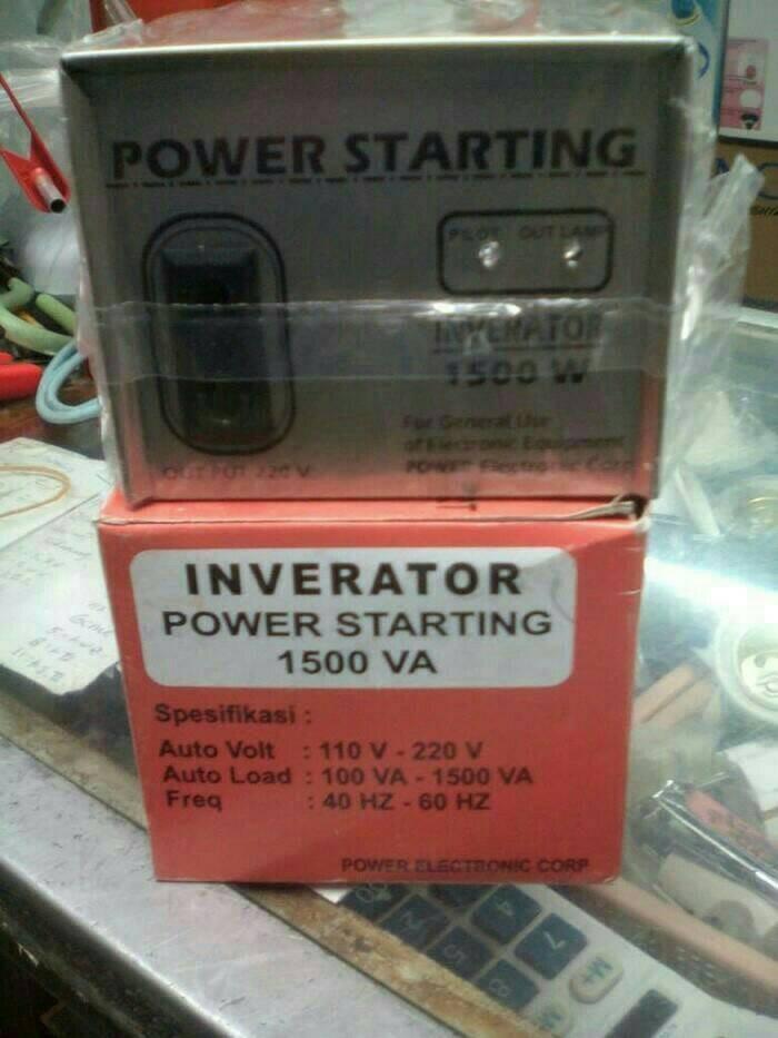 harga Power starting inverator 1500va Tokopedia.com