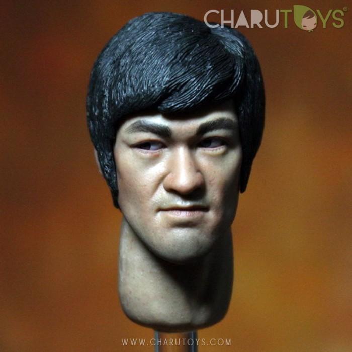 Foto Produk 1/6 Scale Bruce Lee Head-sculpt Ver.2 dari Charu Toys