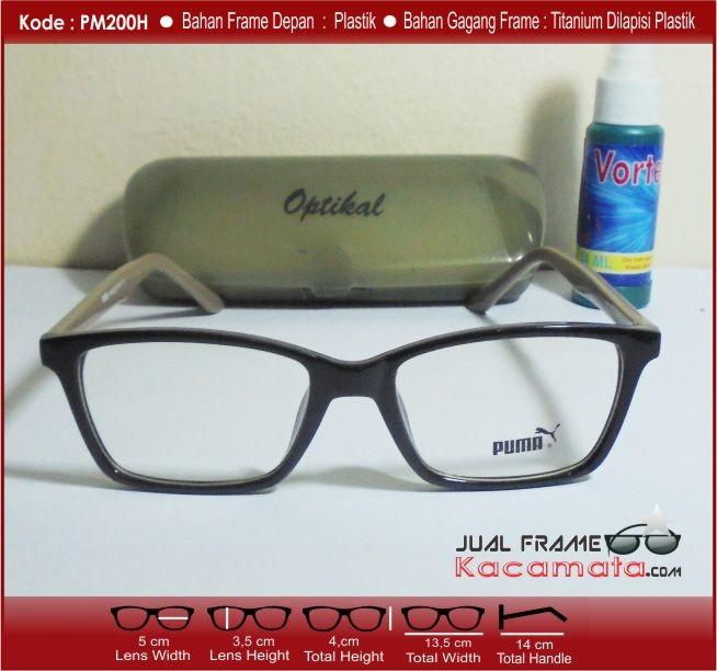 Jual Kacamata Korea Puma Vintage   Free Lensa Minus Plus Antiradiasi ... 1a37a0545f