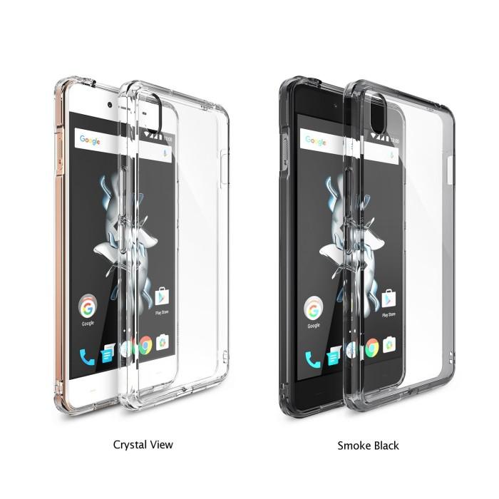 harga Rearth ringke fusion oneplus x case one plus x casing smoke black Tokopedia.com