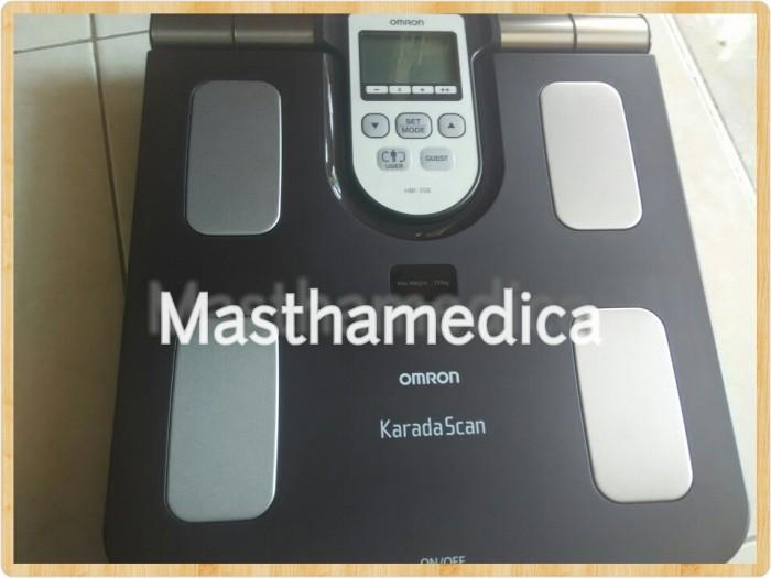harga Timbangan Berat Badan Digital Karadascan Omron Body Composition Hbf 37 Tokopedia.com