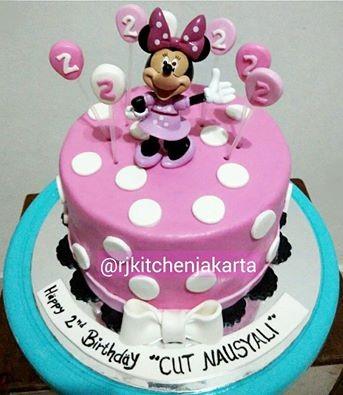 Jual Kue Ulang Tahun Minnie Mouseminnie Mouse Cake Kota Serang Rj Kitchen Jakarta Tokopedia