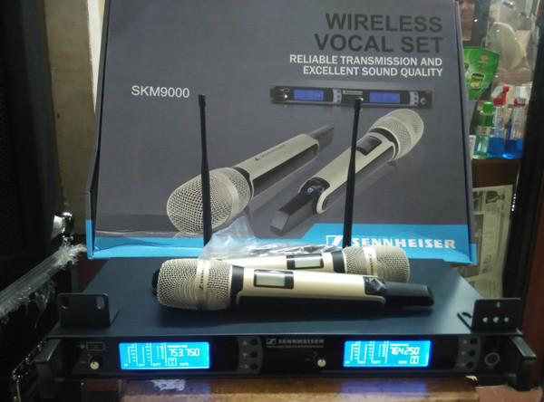 harga Mic wireless sennheiser skm 9000 (2peggang) Tokopedia.com