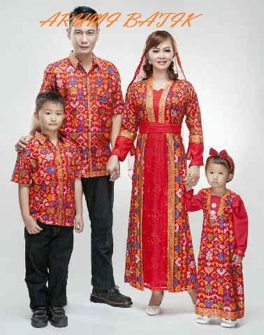 harga Sarimbit pasangan keluarga gamis maxi long dress batik 1628 merah xl Tokopedia.com
