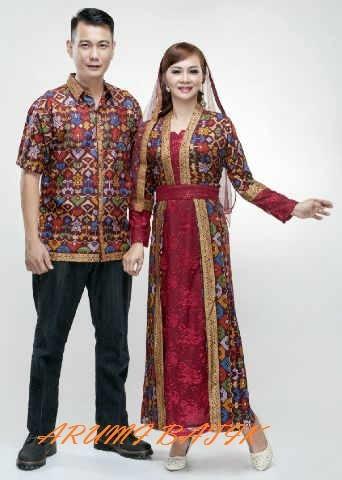 harga Sarimbit pasangan keluarga gamis maxi long dress batik 1627 maroon Tokopedia.com