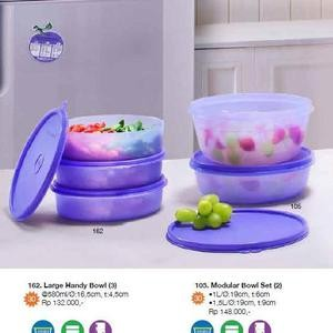 Tupperware Modular Bowl Set (2)