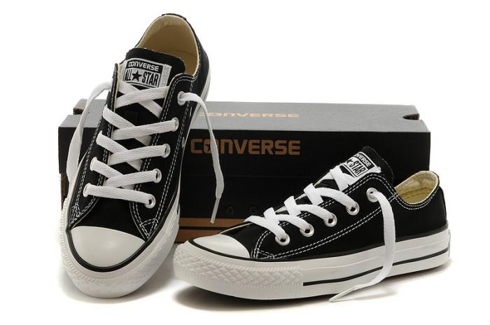 Jual sepatu converse grade ori hitam - toko sepatu ghaziyah  24066e6329