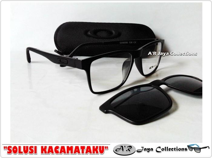 Jual Frame Kacamata Minus Oaklay Clip-On Polarized df65aedd07