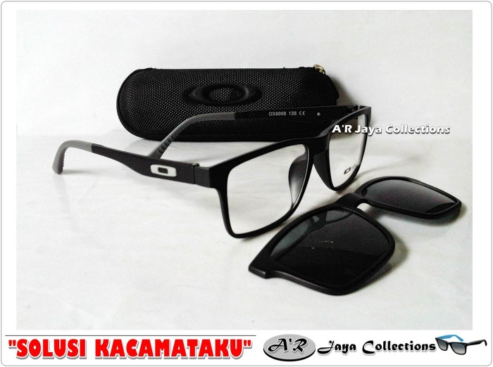 Jual Frame Kacamata Minus Oaklay Clip-On Polarized cf46b4b896