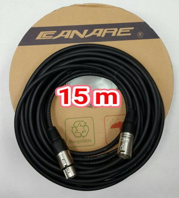 harga Kbl mixer 15m audio canon male to canon female kabel canare Tokopedia.com