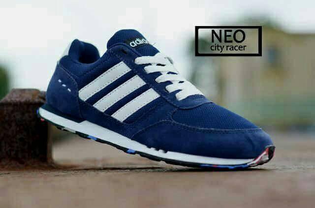 huge selection of 9eb53 62d8e ... good sepatu adidas neo city racer navy sepatu adidas running c4d43 b64d6