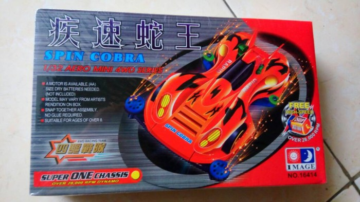 harga Tamiya image mini 4 wd go for speed series spin cobra Tokopedia.com
