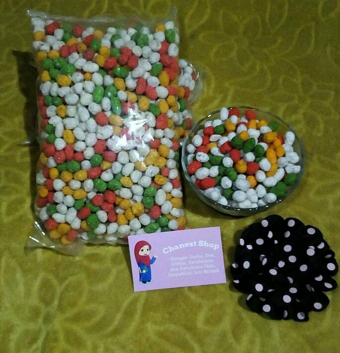 Kacang Goyang Warna Warni Khas 8 Gram