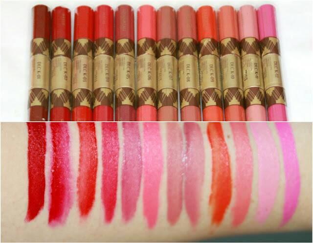 Katalog Sariayu Matte Lipstick Travelbon.com
