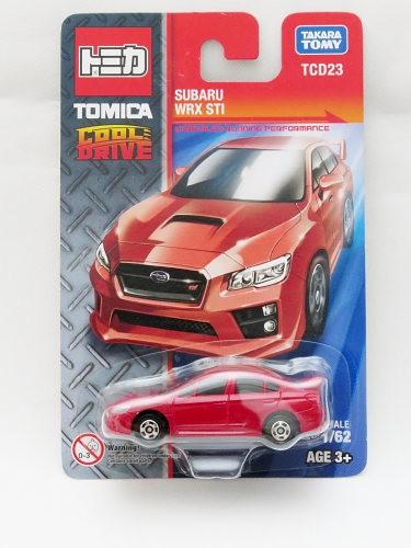 Tomica Cool Drive Tcd23 Subaru Wrx Sti Merah