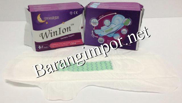 harga Pembalut winion night / anion winalite/kesehatan/legging/bra/cd/baju Tokopedia.com