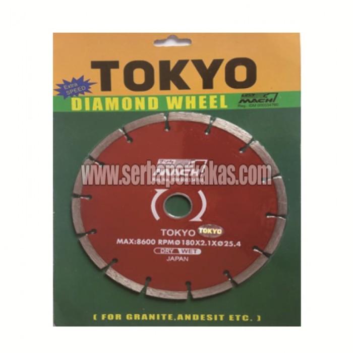 harga Pisau Potong Keramik & Granit 7 Inch Tokyo Diamond Wheel Dry Tokopedia.com