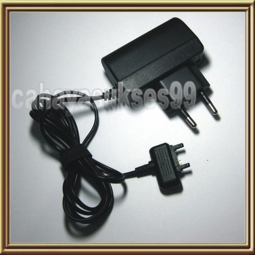 Travel charger sony ericsson w200i w200 gsm jadul vintage chars hp oc
