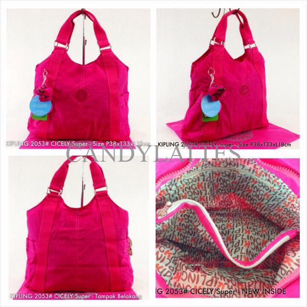 calcular De alguna manera par  Jual TAS KIPLING 2053 #CICELY 3TML - Jakarta Barat - Candylattes Bag  Fashion | Tokopedia