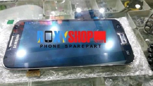 Lcd + Touchscreen Samsung Galaxy S4 I9500 Original Biru