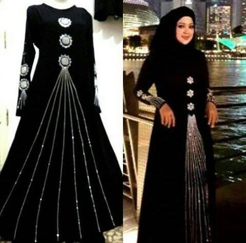 Jual Baju Muslim Wanita Baju India Gamis Mewah Jakarta Zafirah Butik Tokopedia