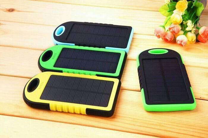 harga Power bank solarcell 99000mah Tokopedia.com