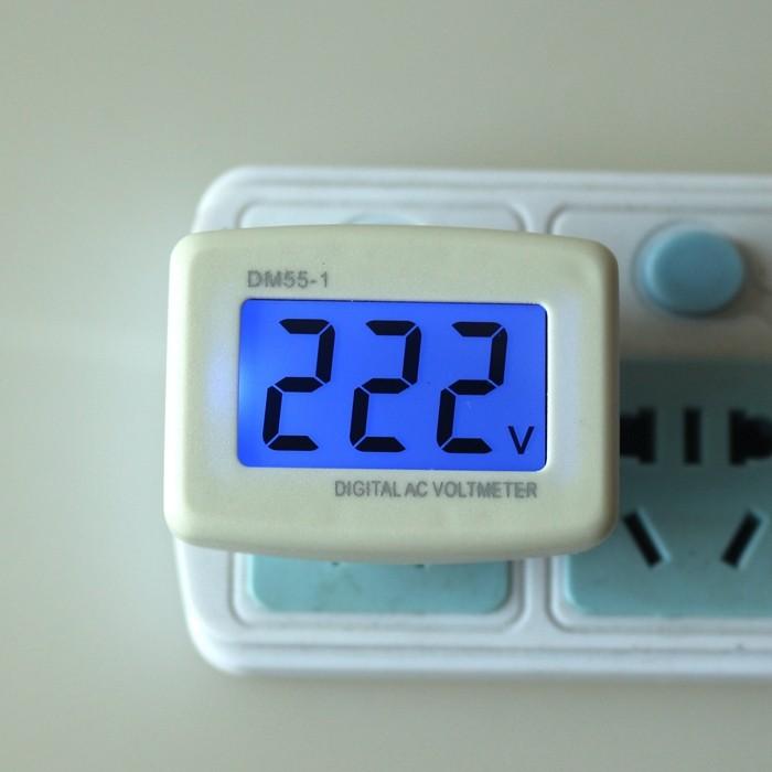 harga Led voltmeter alat untuk mengukur / ukur tegangan voltase listrik Tokopedia.com